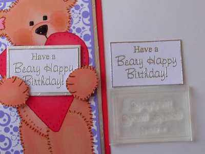 Have a Beary Happy Birthday
