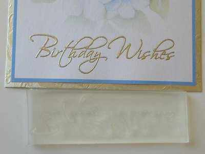 Birthday Wishes, script