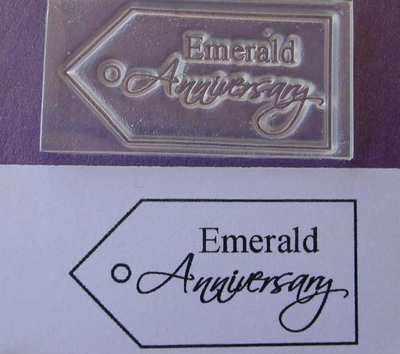 Tag, Emerald Anniversary