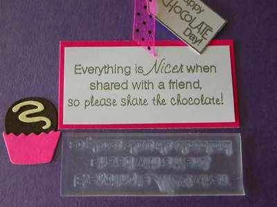 Please share the chocolate!