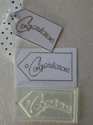 Tag, Congratulations