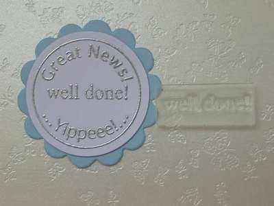 Well Done! Little Words stamp