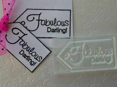 Tag, Fabulous Darling!