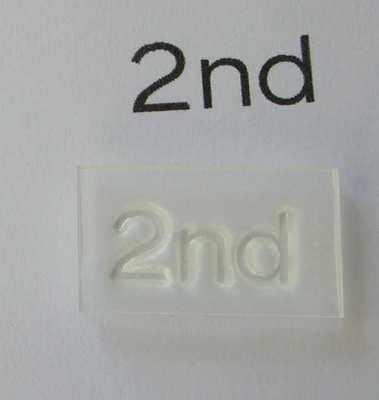 2nd, stamp