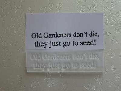 Gardeners don't die