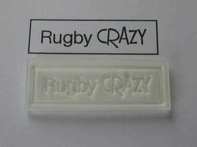 Rugby Crazy, stamp