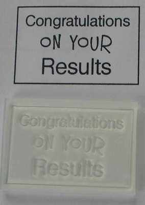 Congratulations on your Results