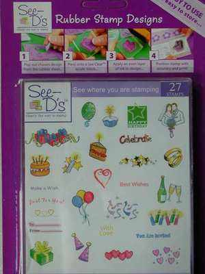 See-D Celebration Stamp Set