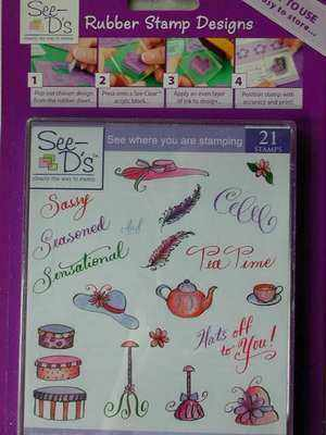 See-D Hats off to you Stamp Set