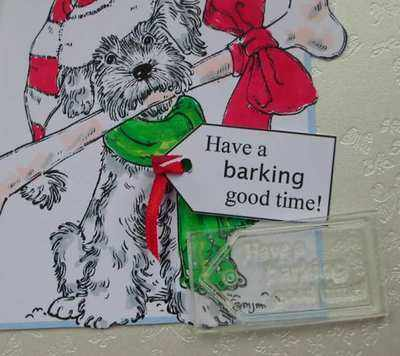 Tag, Have a barking good time!