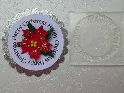 Happy Christmas, circle