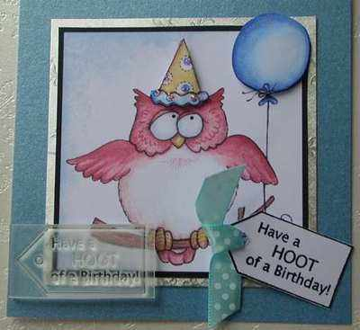 Tag, Have a HOOT of a Birthday!