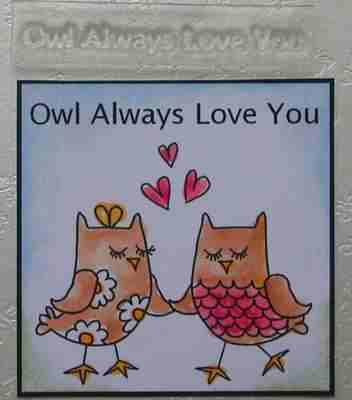 Owl Always Love You, stamp