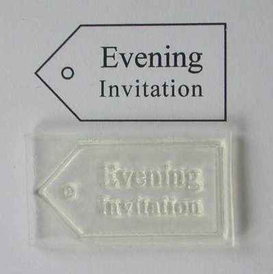 Tag, Evening Invitation