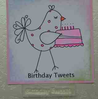 Birthday Tweets, stamp