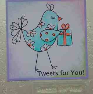 Tweets for You!  stamp