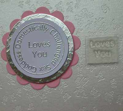 Loves You, Little Words stamp