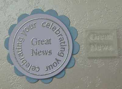 Great News 2, Little Words stamp