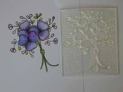 Flower Bunch stamp