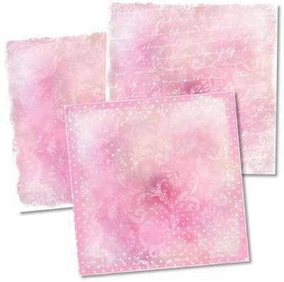 So Shabby, pink digi papers