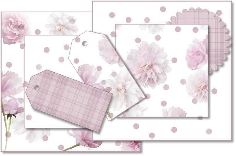 pink flowers examples
