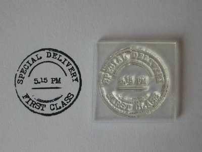 Postmark stamp, Special Delivery