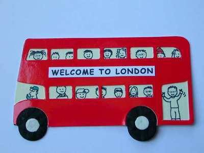 London Bus die cut