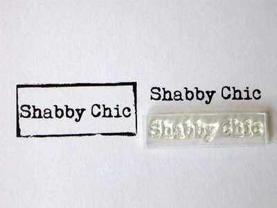 Shabby Chic stamp