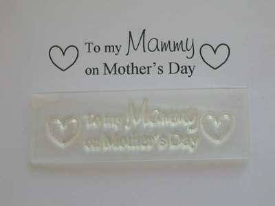 To my Mammy on Mother's Day