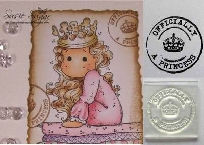 Postmark stamp, Officially a Princess
