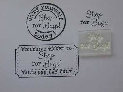 Shop for Bags! little words stamp