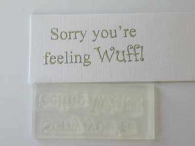Sorry you're feeling Wuff!
