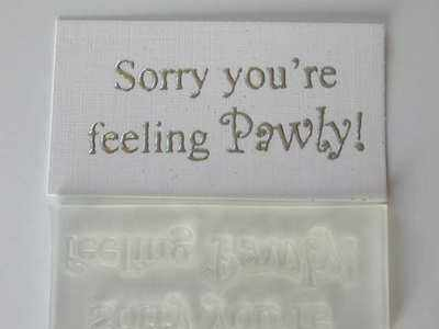Sorry you're feeling Pawly!