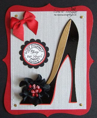 Shop for Shoes! little words stamp