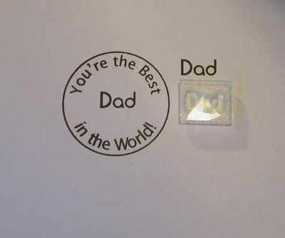 Dad, stamp 1