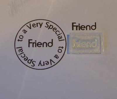 Friend, stamp 1