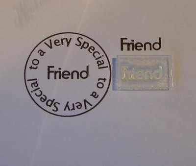Friend, stamp 1