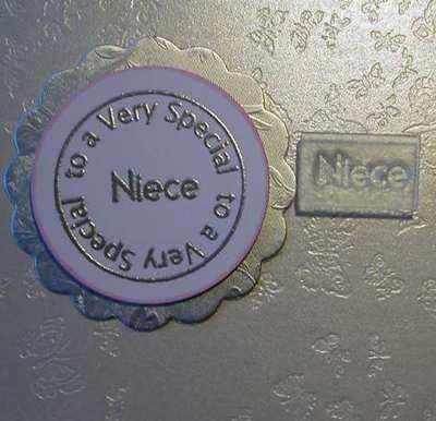 Niece, stamp 1