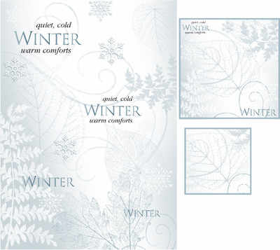 Winter topper digi kit