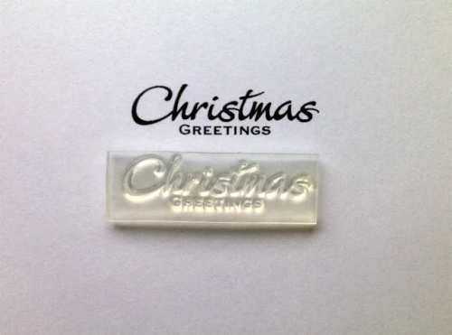 Christmas Greetings stamp