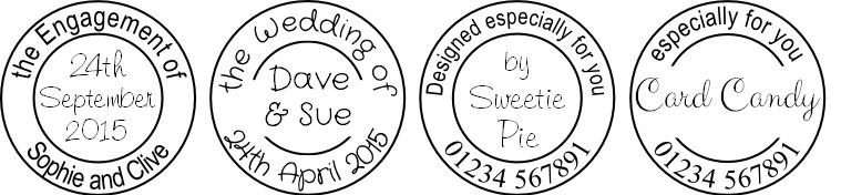 personalised circle examples