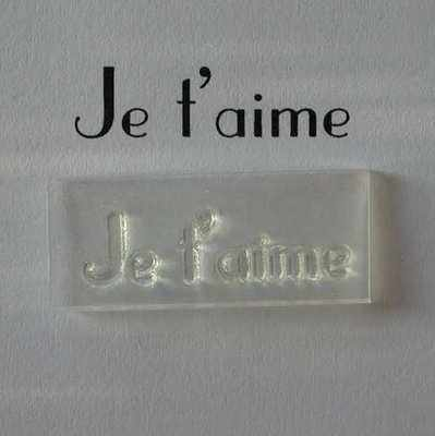 Je t'aime, stamp