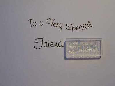 Friend, stamp 3