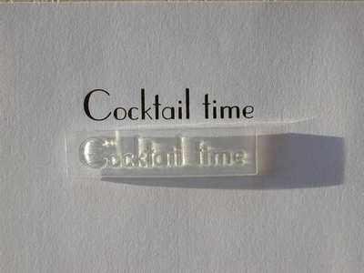Cocktail Time, stamp