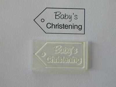 Tag, Baby's Christening