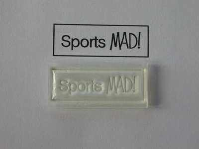 Sports MAD! stamp