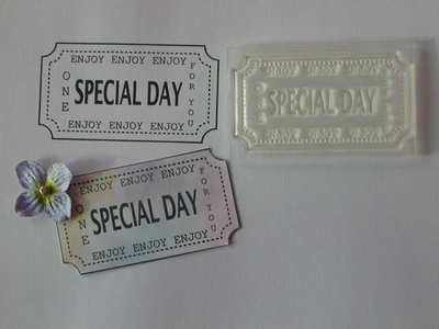 Ticket stamp, Special Day