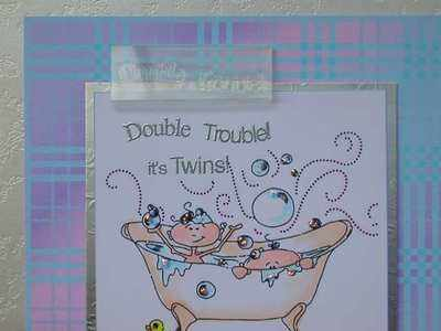 Double Trouble! stamp