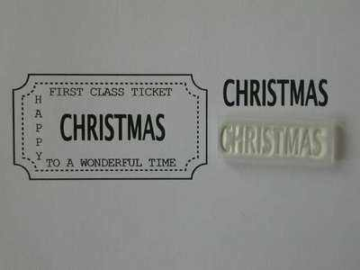 Ticket stamp option, Christmas