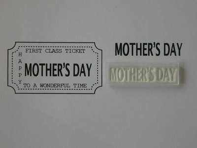 Ticket stamp option, Mother's Day